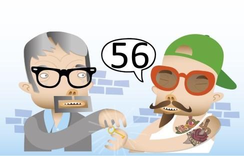 Vinkki 56: Liikejuristi ja mainosmies, kuin kaksi marjaa?